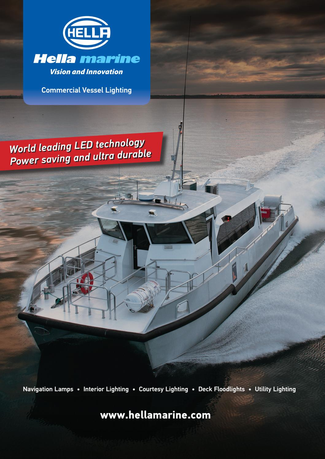 Marine Vessel Lighting Commercial Vessing Lighting 2016 International By Hella