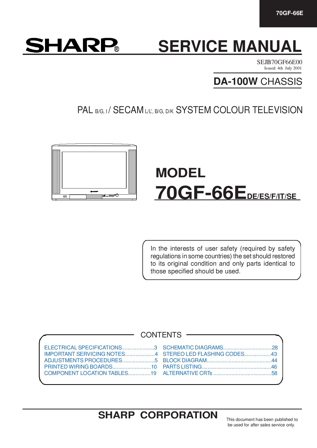 daewoo 70gf 66e television cricuit diagram