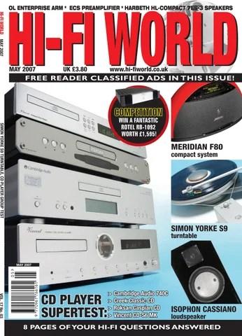 Hi - Fi World (May) by Gerry Radford - issuu