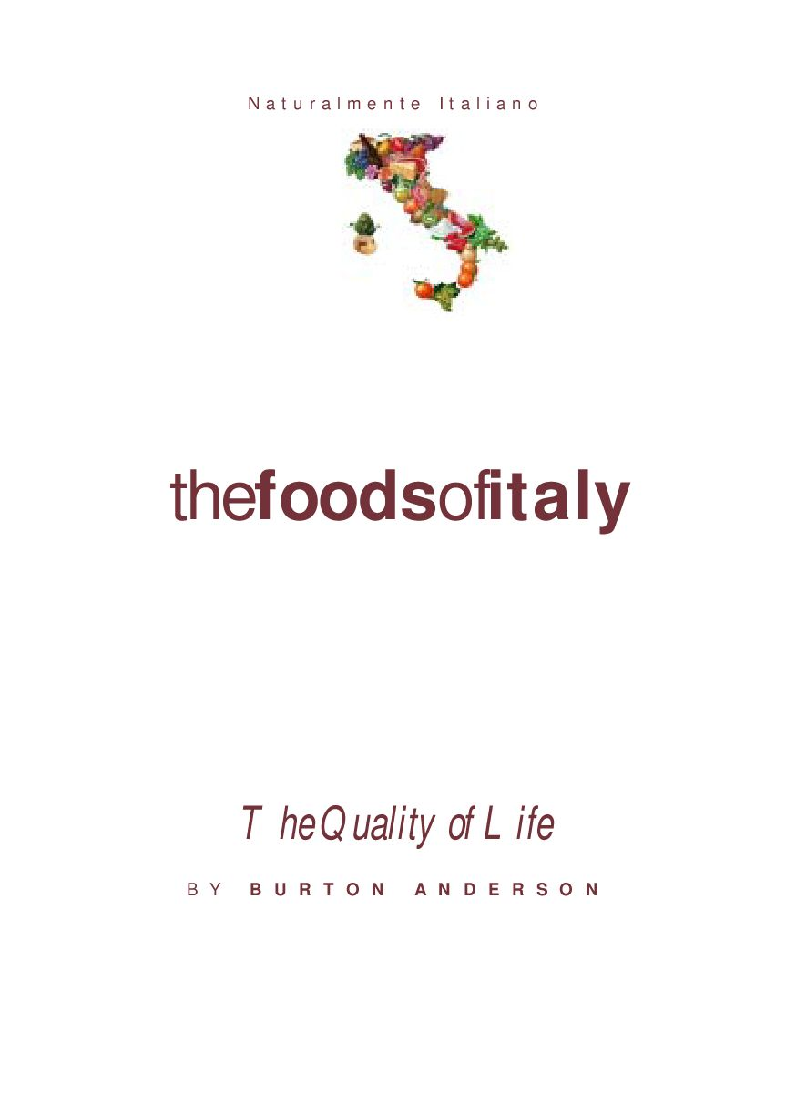 Foods Of Italy By Cucinone Issuu
