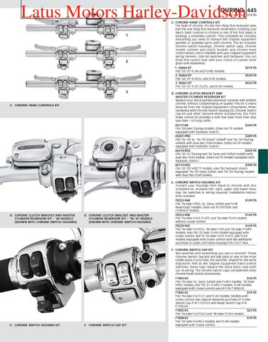 Part 2 Harley-Davidson Parts and Accessories Catalog by Harley