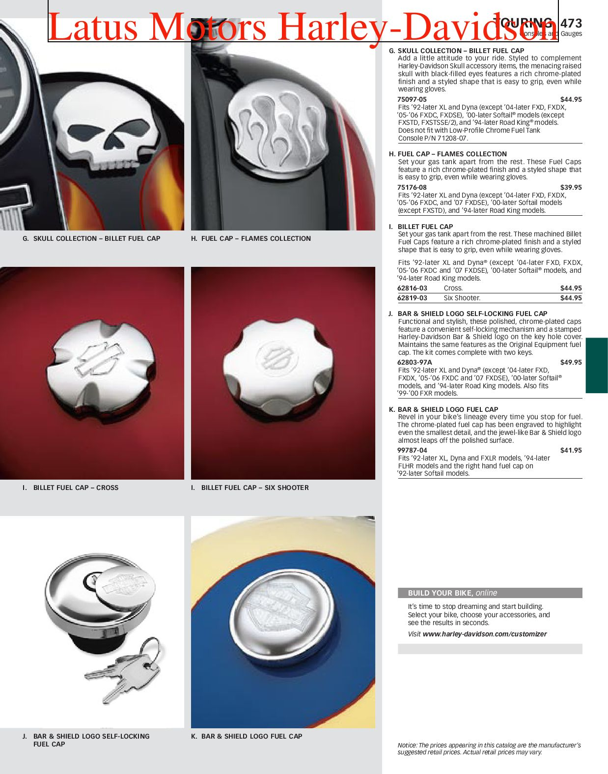 Apart Katalog Online Harley Davidson Touring Parts And Accessories Catalog