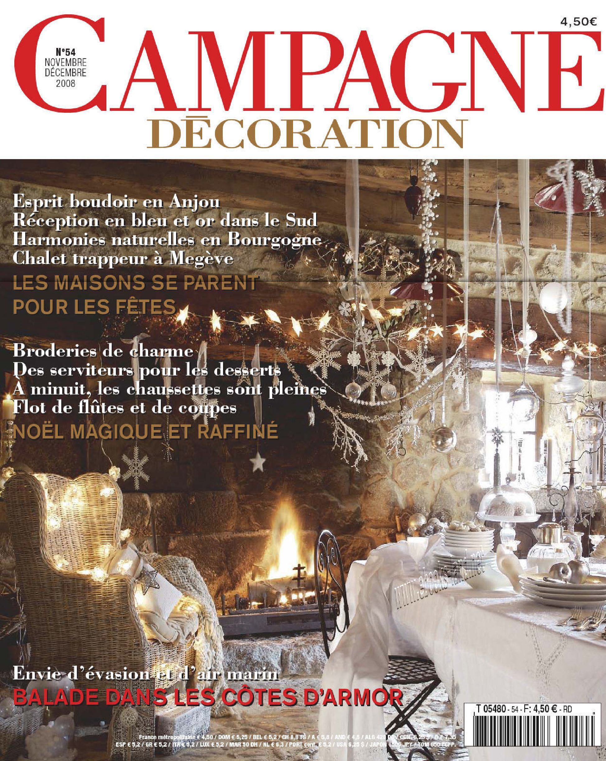 Campagne Décoration Magazine Campagne Decoration N54 French Mag Eland