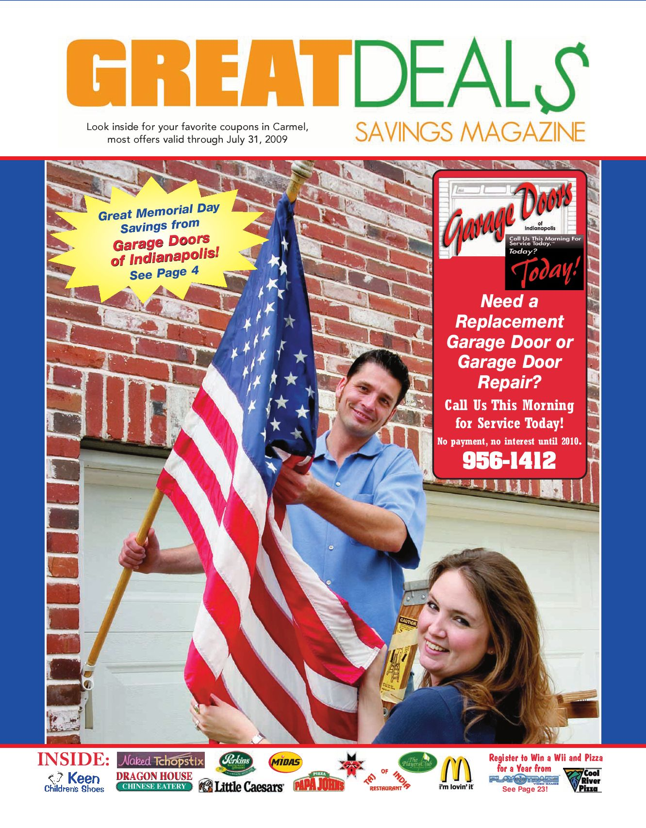 Garage Door Coupons Indianapolis Carmel Great Deals Savings Magazine By Steve Mougeotte Issuu