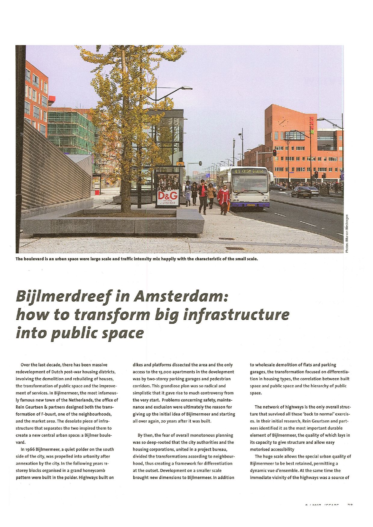 Bureau Eiland Bijlmerdreef In Amsterdam How To Transform Big Infrastructure