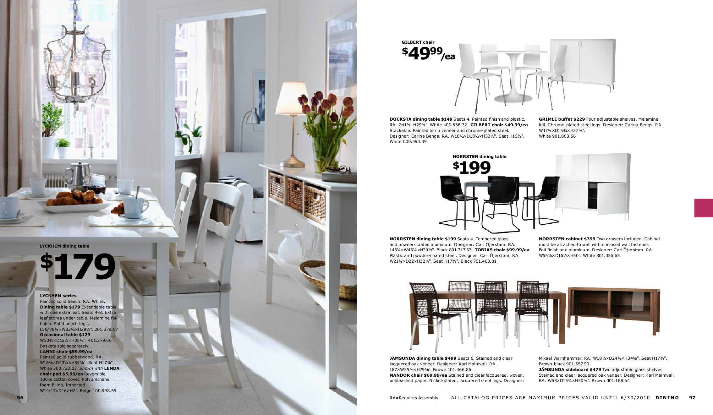 Extendable Dining Table Ikea Ikea Catalog 2010 By Muhammad Mansour - Issuu