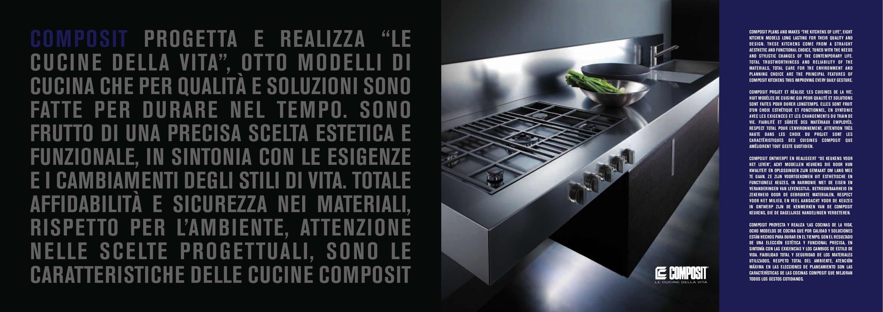 Cucina A Gas Qualità Catalogo Cucine Composit By Linearreda It Issuu
