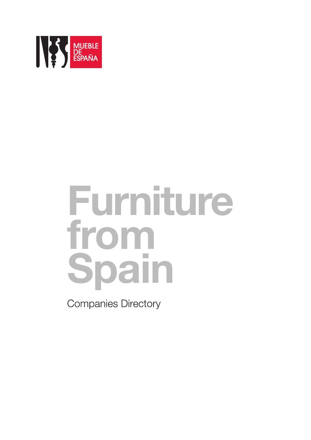 Muebles Bm 2000 Furniture From Spain By Furniture From Spain Issuu