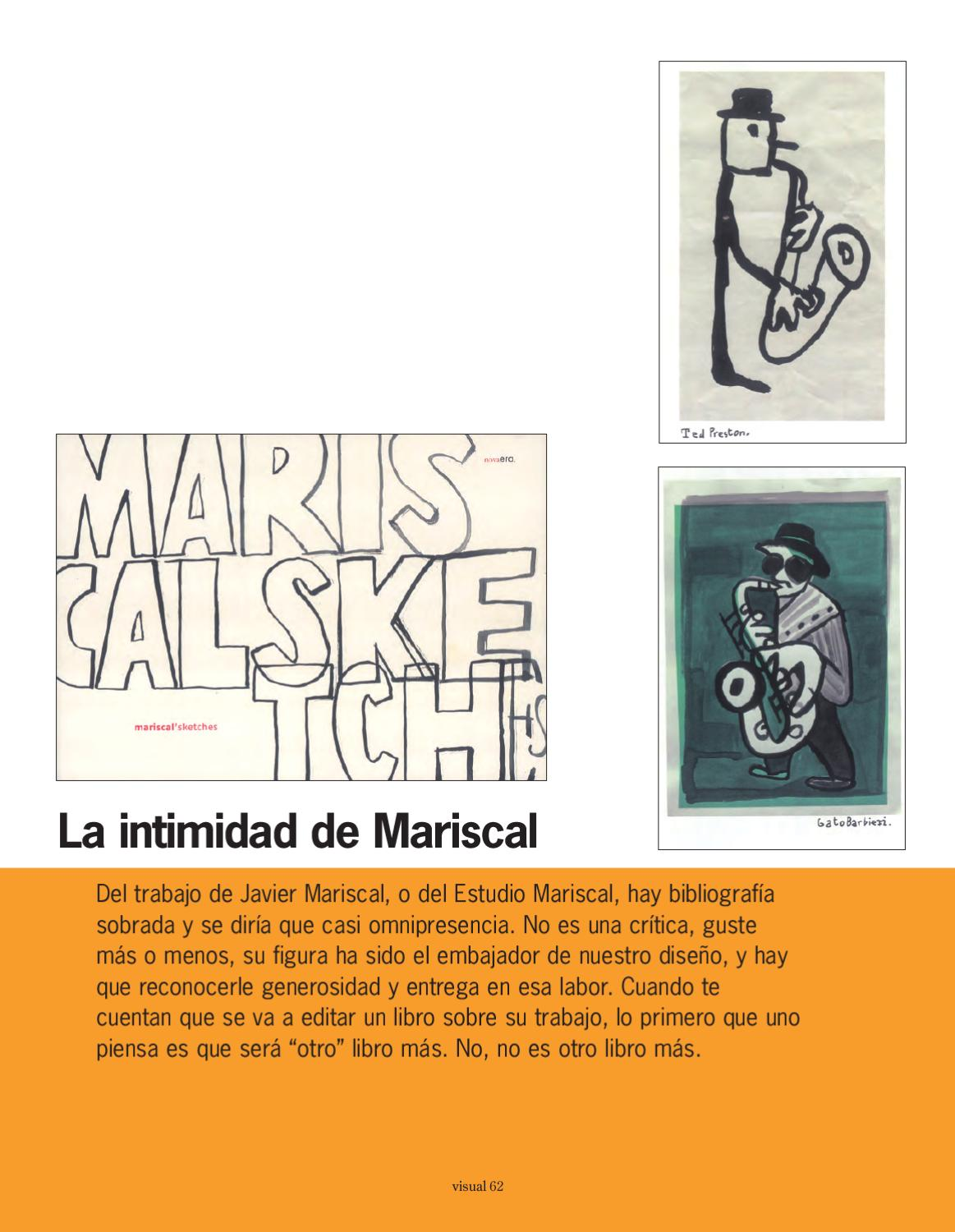 Intimidad Libro La Intimidad De Mariscal By Visual Magazine Issuu