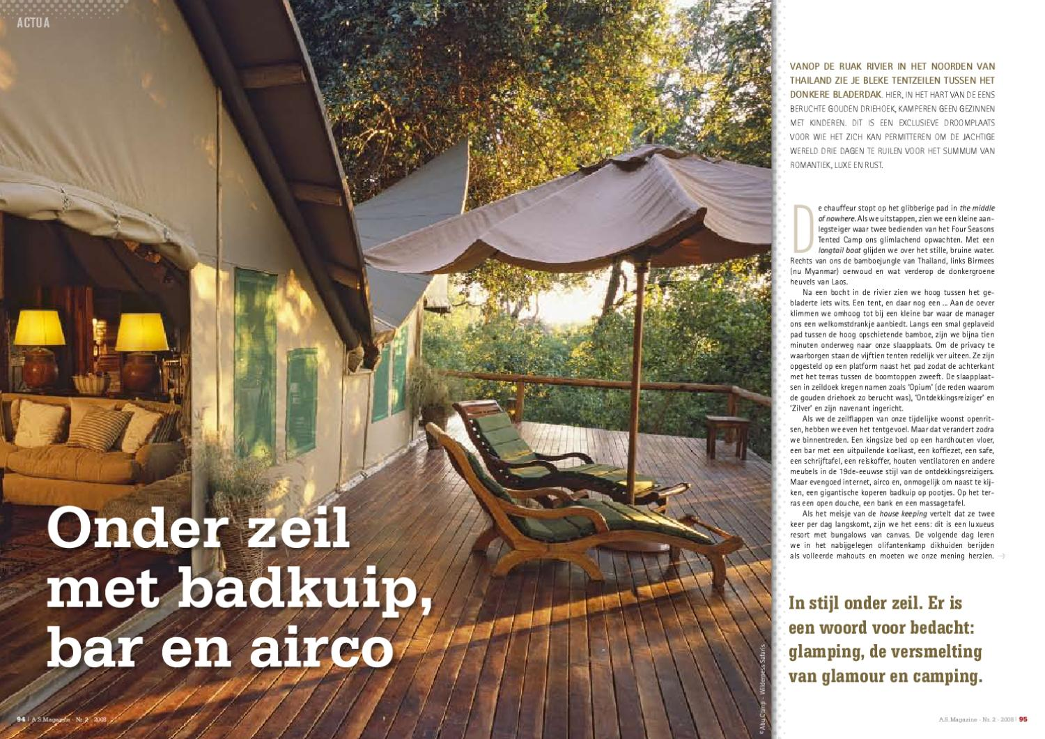 Badkuip Camping As Adventure Magazine 2