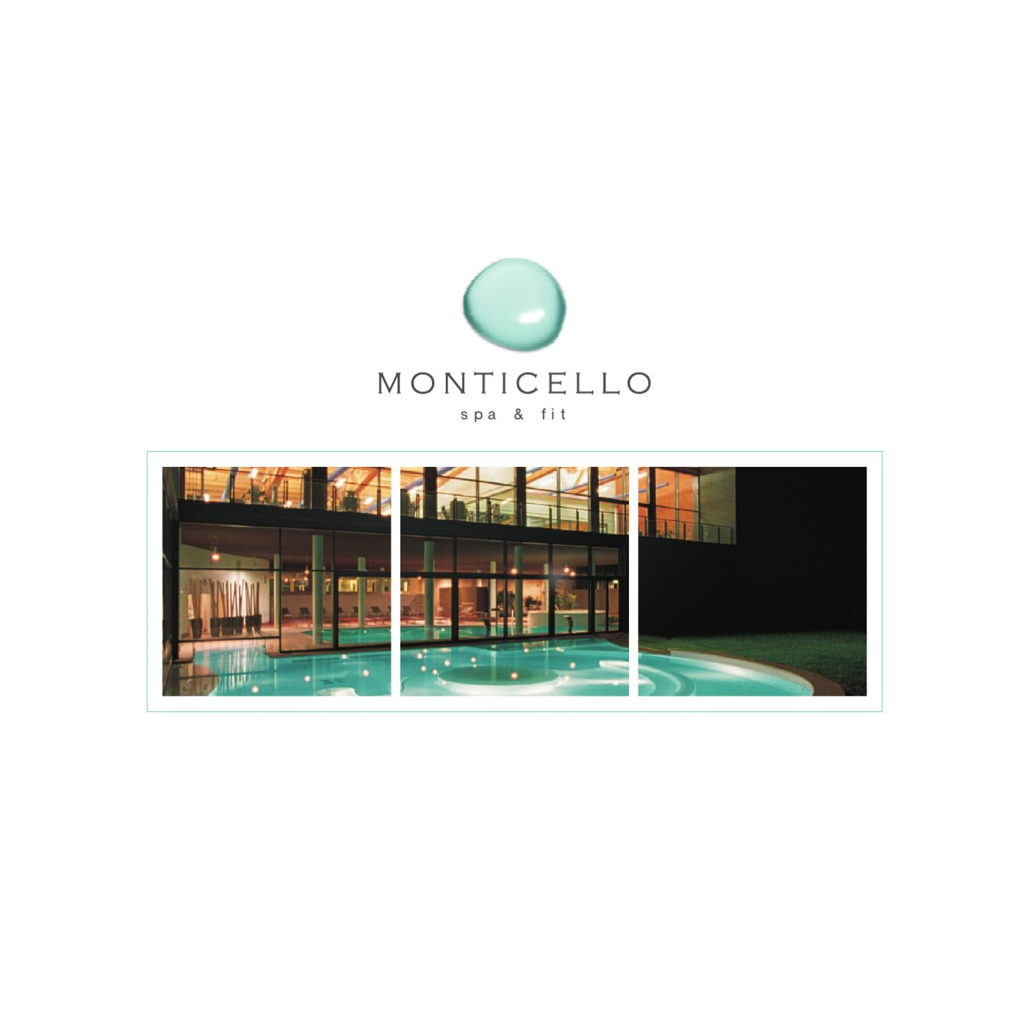 Lc Spa Brochure Monticello Spa By Monticello Spa Issuu