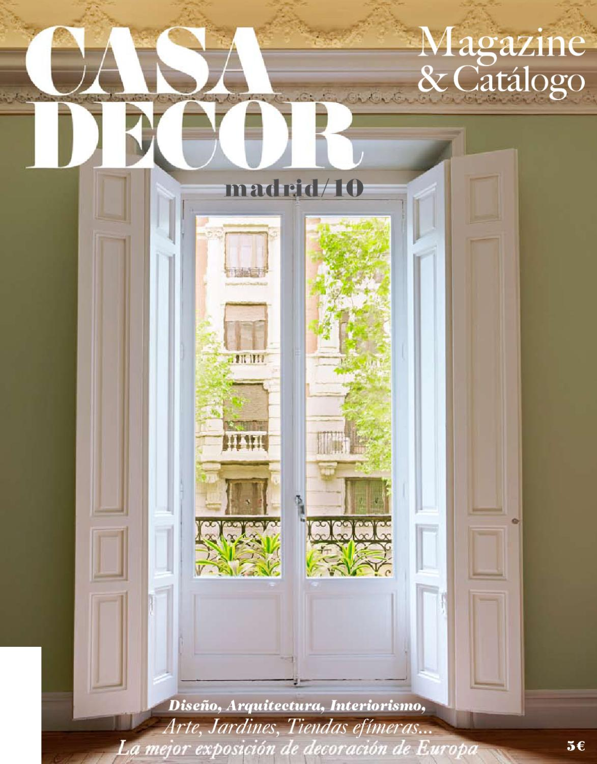 Camino Hormigueras 180 Madrid Casa Decor Madird 2010 By Casa Decor Issuu