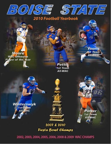 2010 Boise State Football Yearbook by Boise State University - issuu