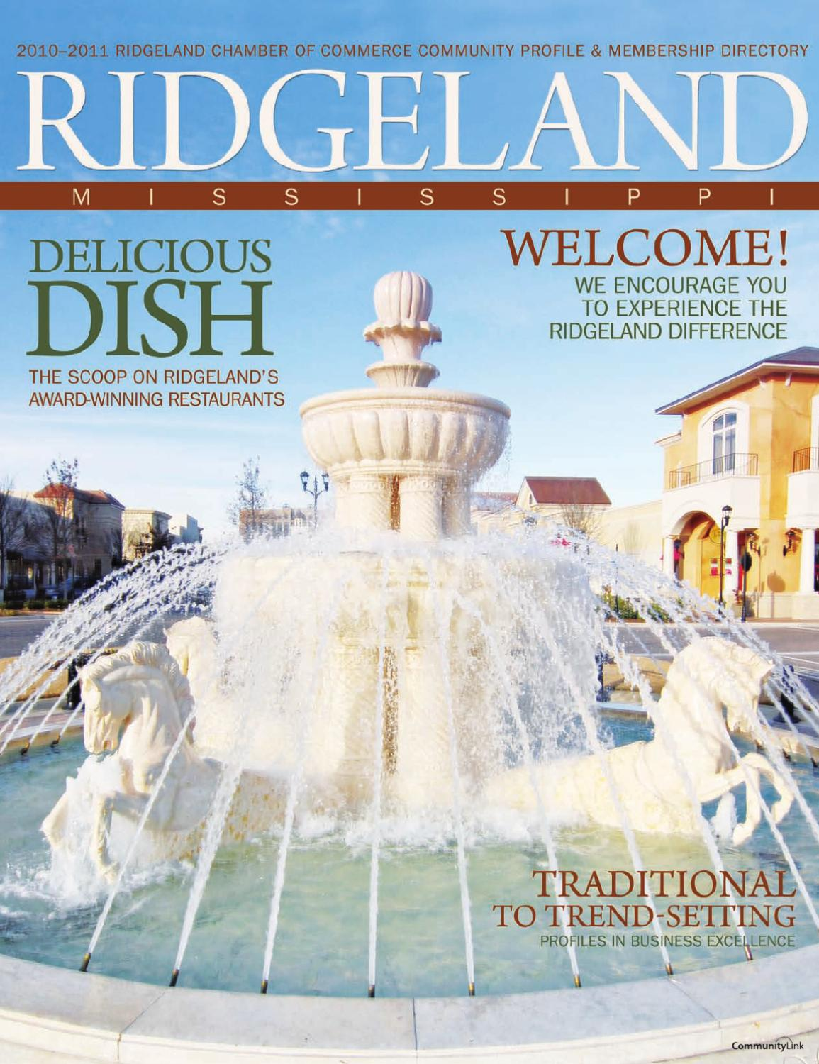 Rossini Cucina Italiana Ridgeland Menu Ridgeland Ms 2010 Community Profile And Membership Directory By