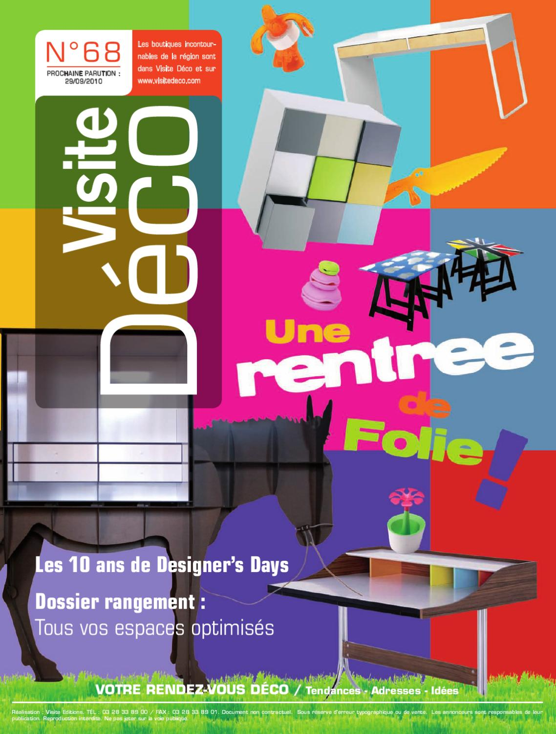 Magasin Meubles Wervicq Belgique Magazine Visite Deco 68 By Visite Editions Issuu