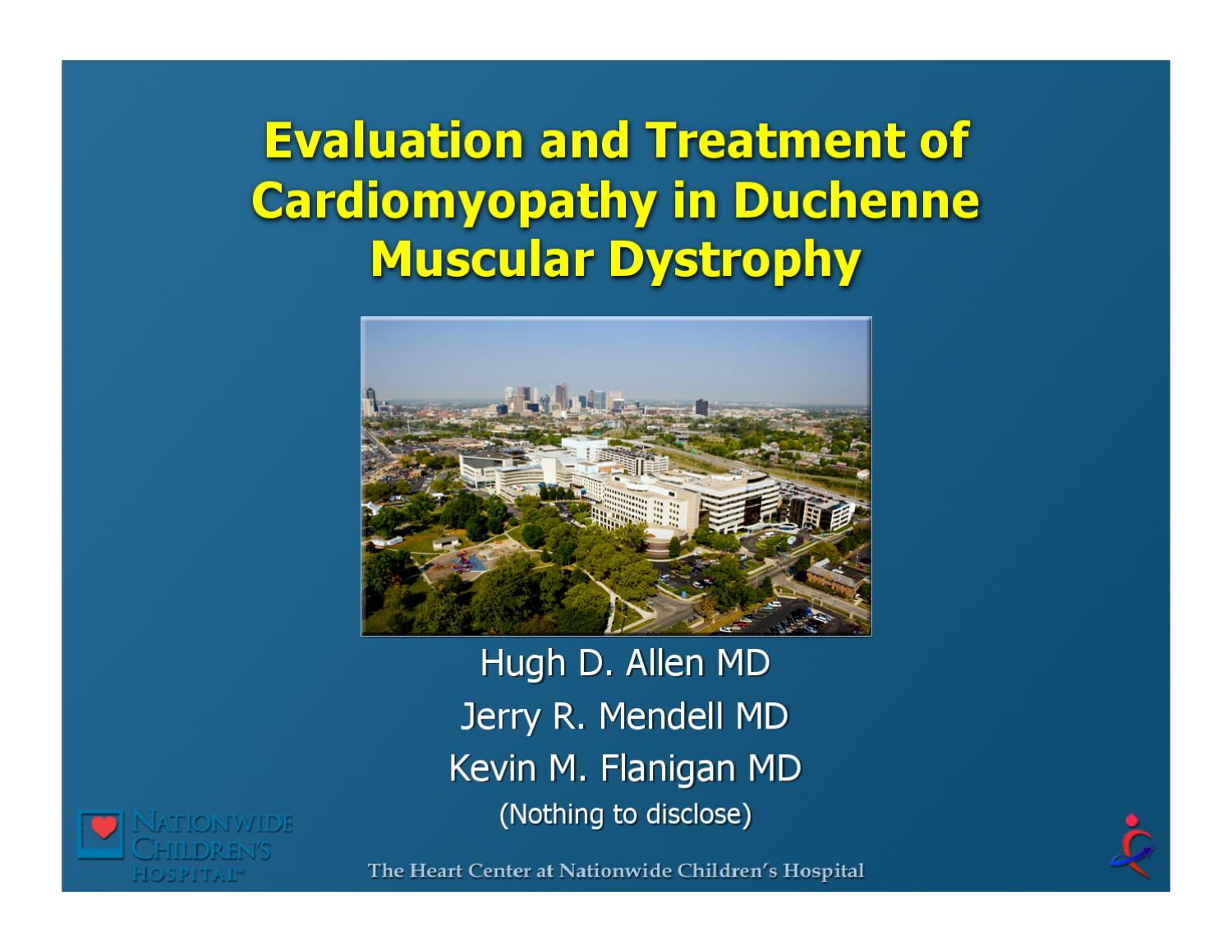Duchenne Muscular Dystrophy Diagnosis Stories Evaluation And Treatment Of Cardiomyopathy In Duchenne