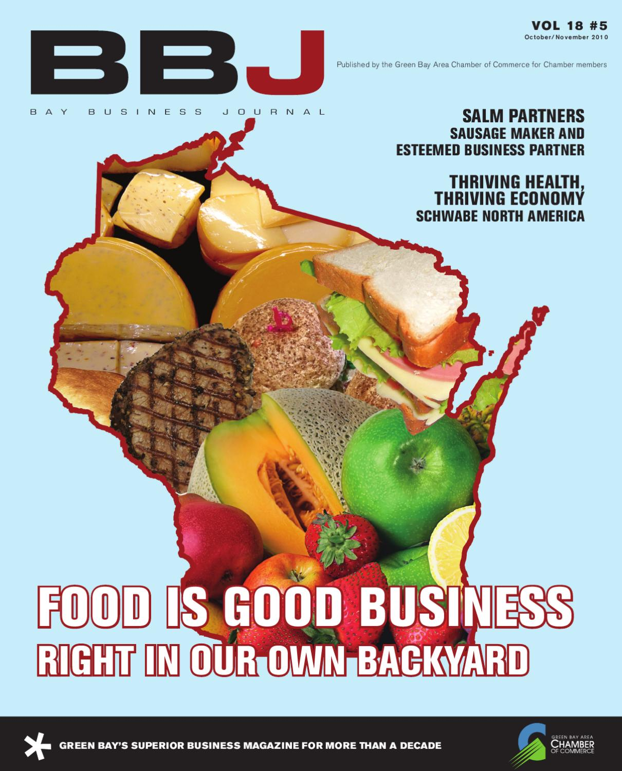 Salm Karlsruhe Bbj October - November By Greater Green Bay Chamber - Issuu