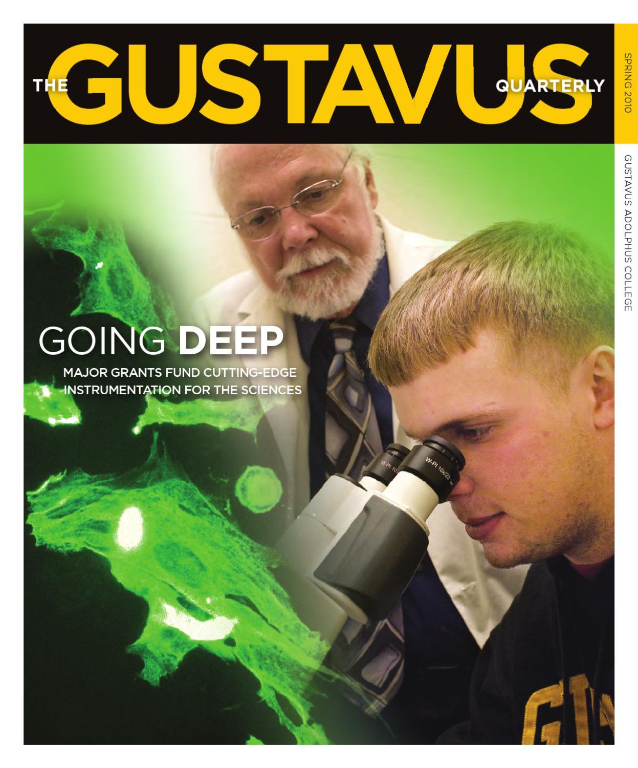 Spring 2010 Quarterly By Gustavus Adolphus College Issuu