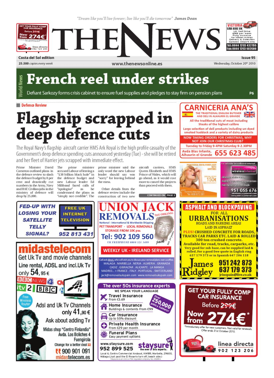 The News Newspaper Issue 095 Date 20 10 10 By The News Newspaper Issuu