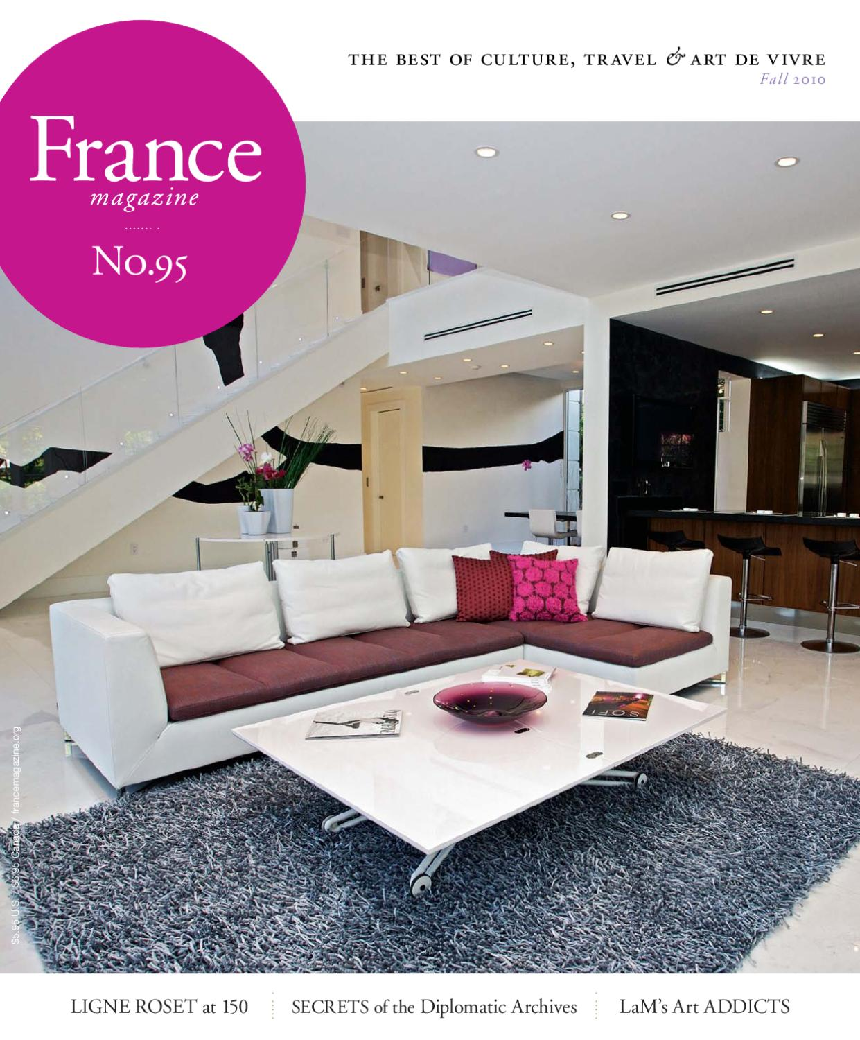 Ligne Roset Bern France Magazine 95 Fall 2010 By France Magazine Issuu