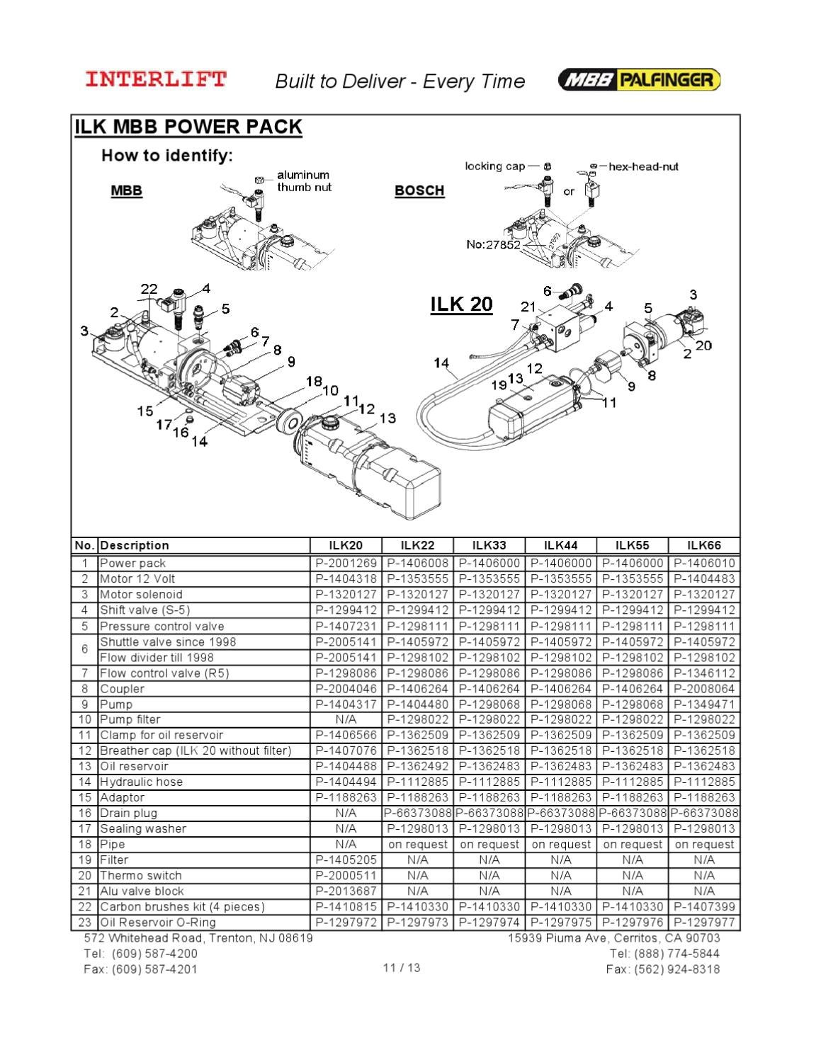 Auto Electrical Wiring Diagram Interlift Liftgate
