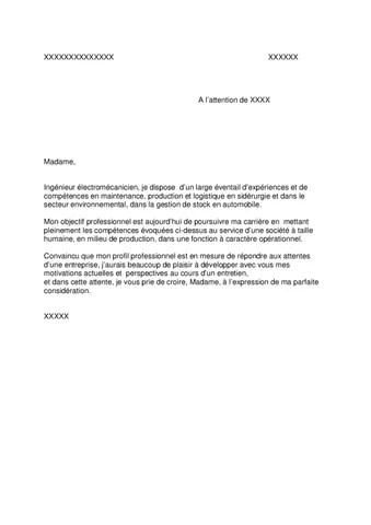 Exemple de lettre de motivation (Randstad 2) by Jobs  Careers CV - modele lettre de motivation
