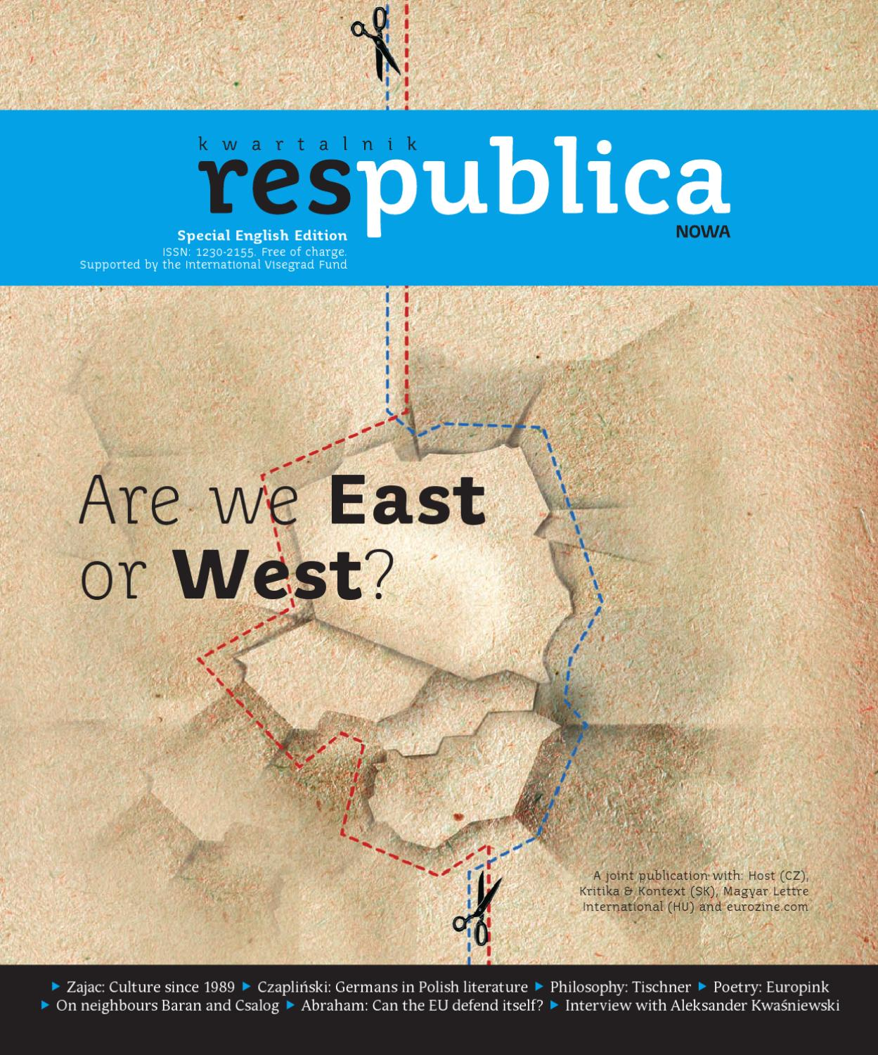 Wespennest Synonym Are We East Or West By Res Publica Issuu