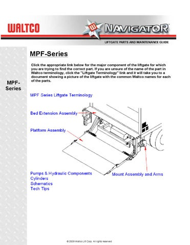 Waltco Liftgate Wiring Diagram Free Printable Wiring Diagrams