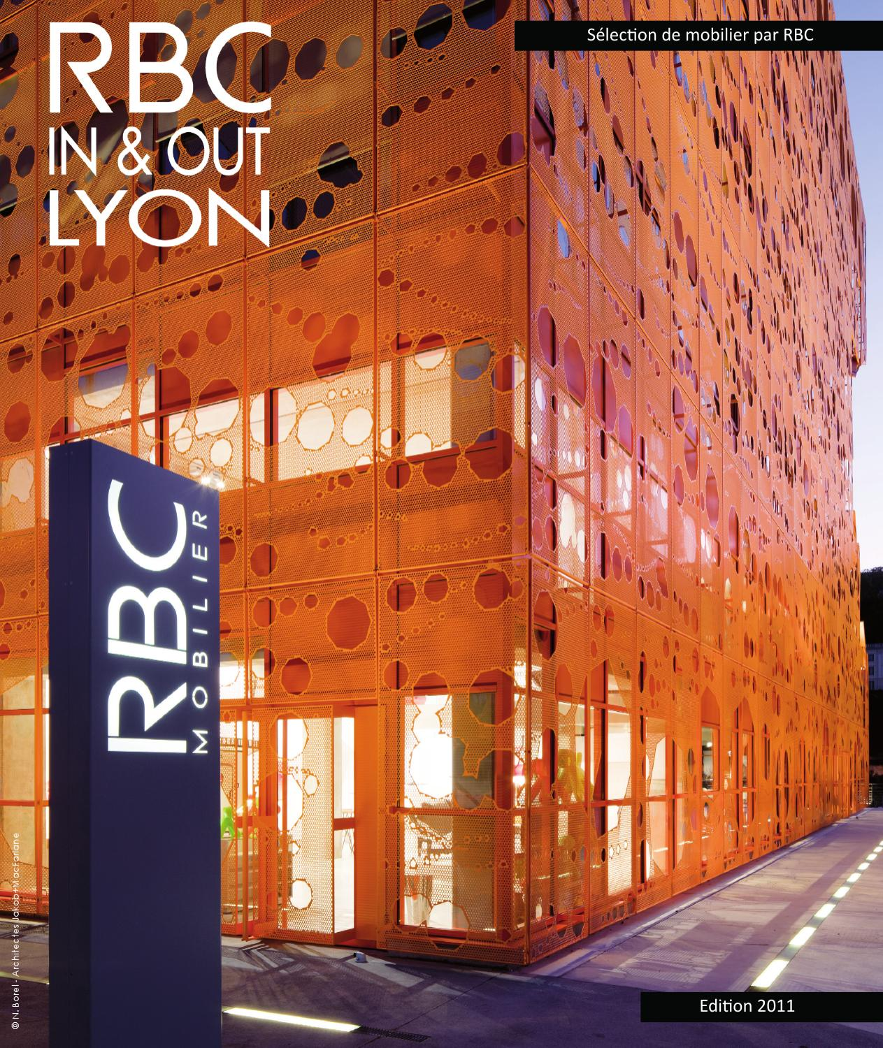 Rbc Mobilier Rbc In Andout Lyon 2011 By Rbc Mobilier Issuu