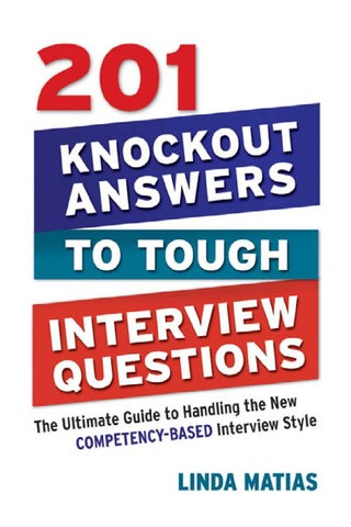 201 knockout answers to tough interview questions by chan spyman - issuu - guidance counselor interview questions and answers