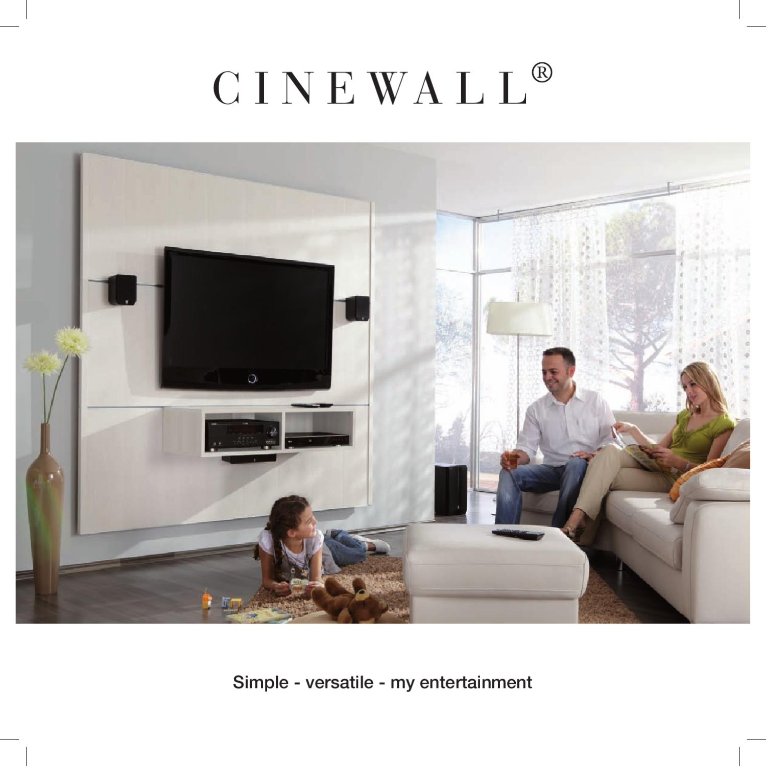 Cinewall Tv Paneel Cinewall By Momy Issuu