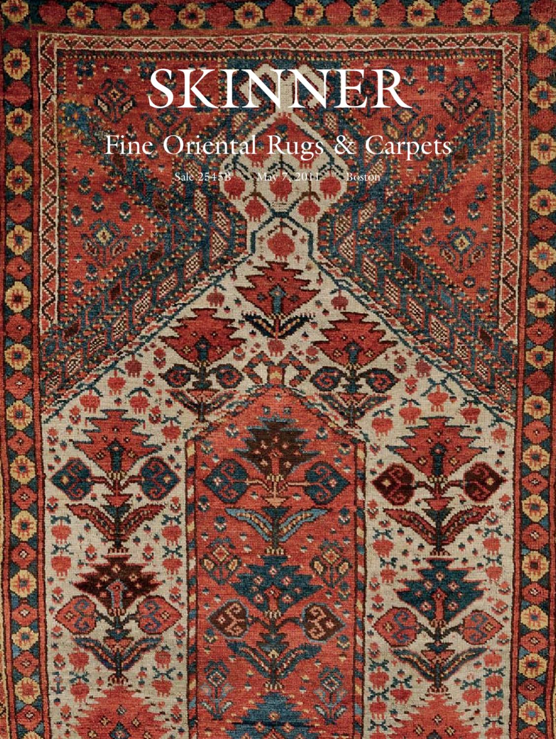 Oriental Rugs Carpets Skinner Auction 2545b By Skinner Inc Issuu