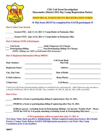 cub scouts medical release form - Helpemberalert - boy scout medical form