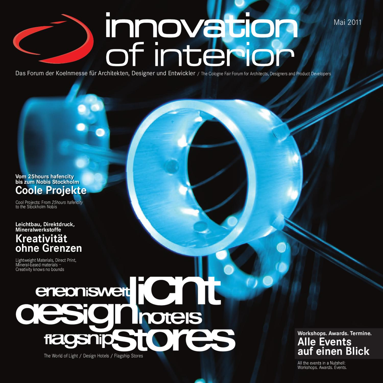 Innovation Of Interior Magazin 2011 By Martina Lorbach Issuu