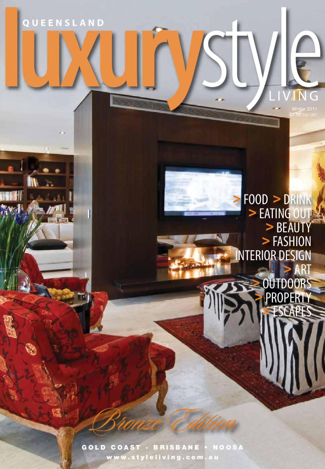 Cucina Restaurant Southbank Brisbane Luxury Style Winter 2011 By Style Living Issuu