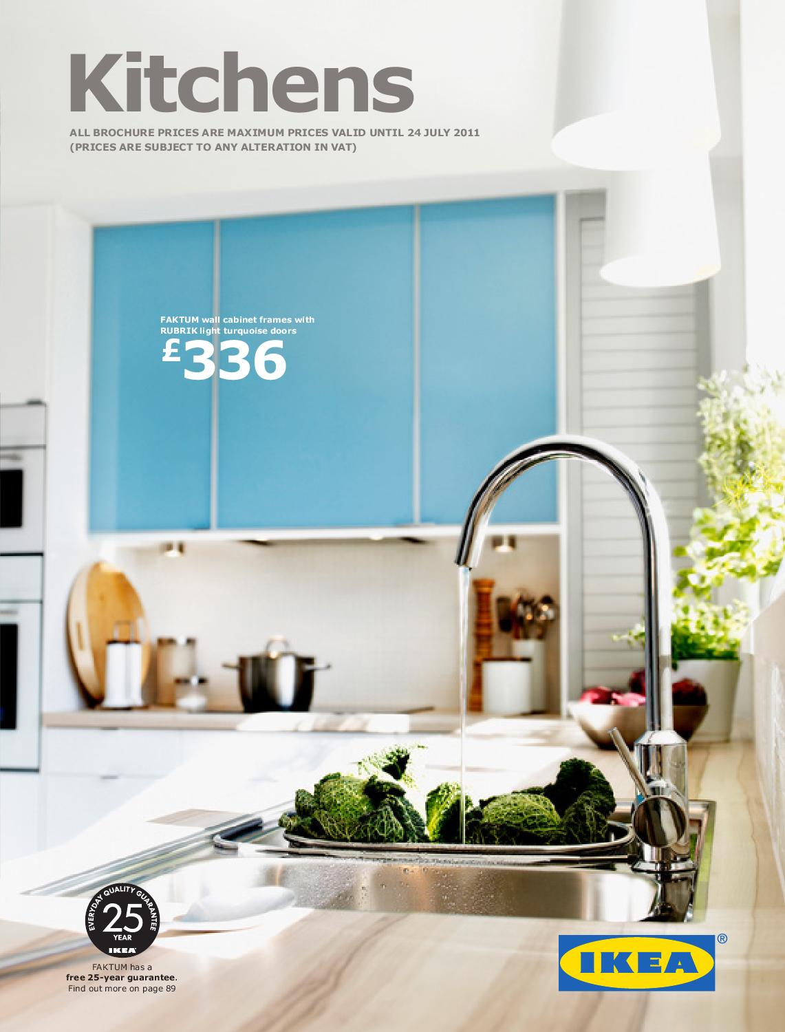 Range Brochure Kitchen 2011 By Promooferti Com Issuu