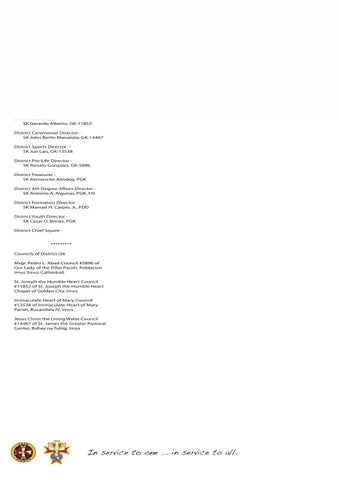 Letterhead by Knights of Columbus - issuu