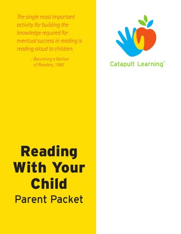 CL Parent Workshop - Reading with your Child by Catapult Learning