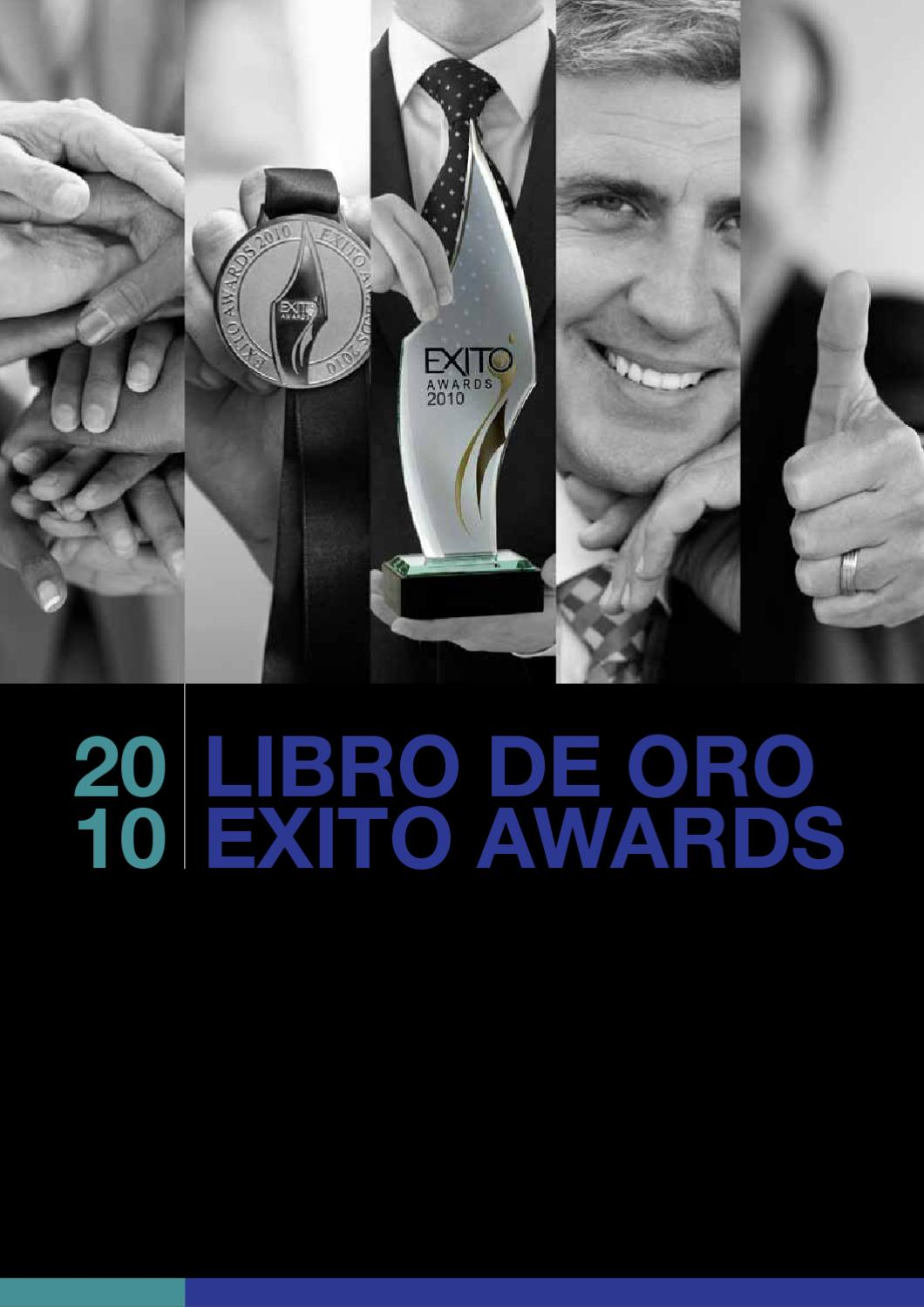 Libro Exito Libro De Oro Exito Awards 2010 By Eventos Internacionales