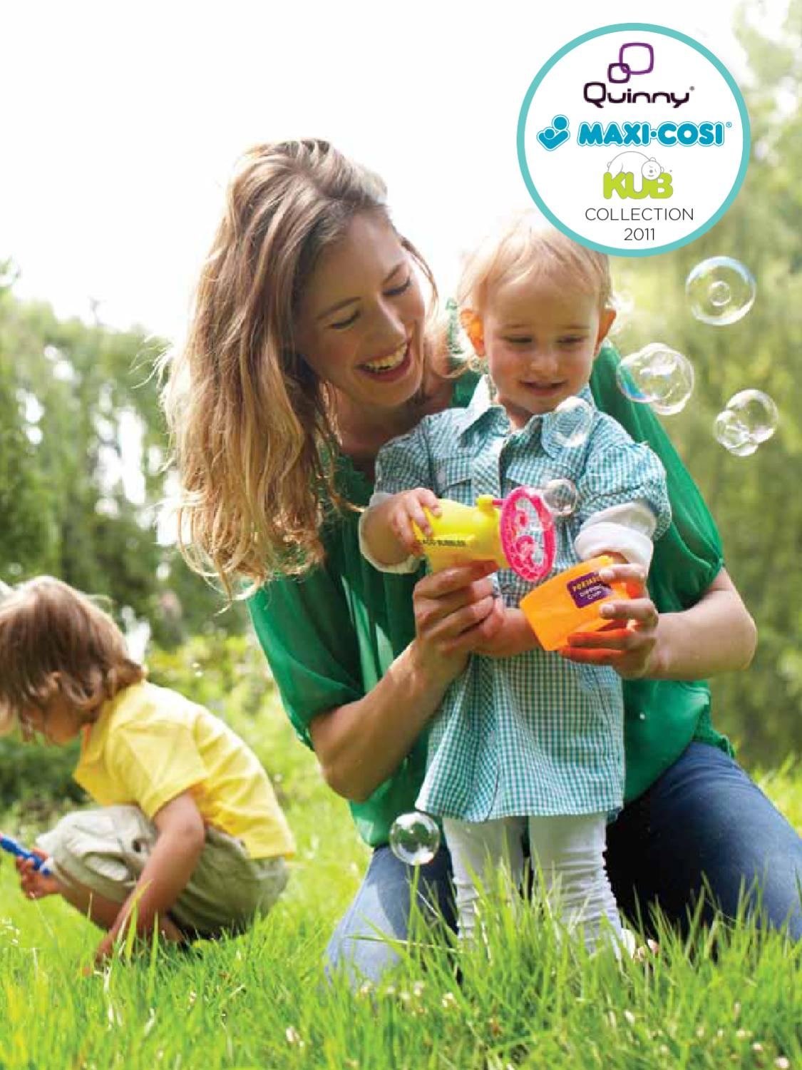 Maxi Cosi Loola Car Seat Adapters Uk Quinny Consumer Brochure 2011 By Dorel Netherlands Issuu