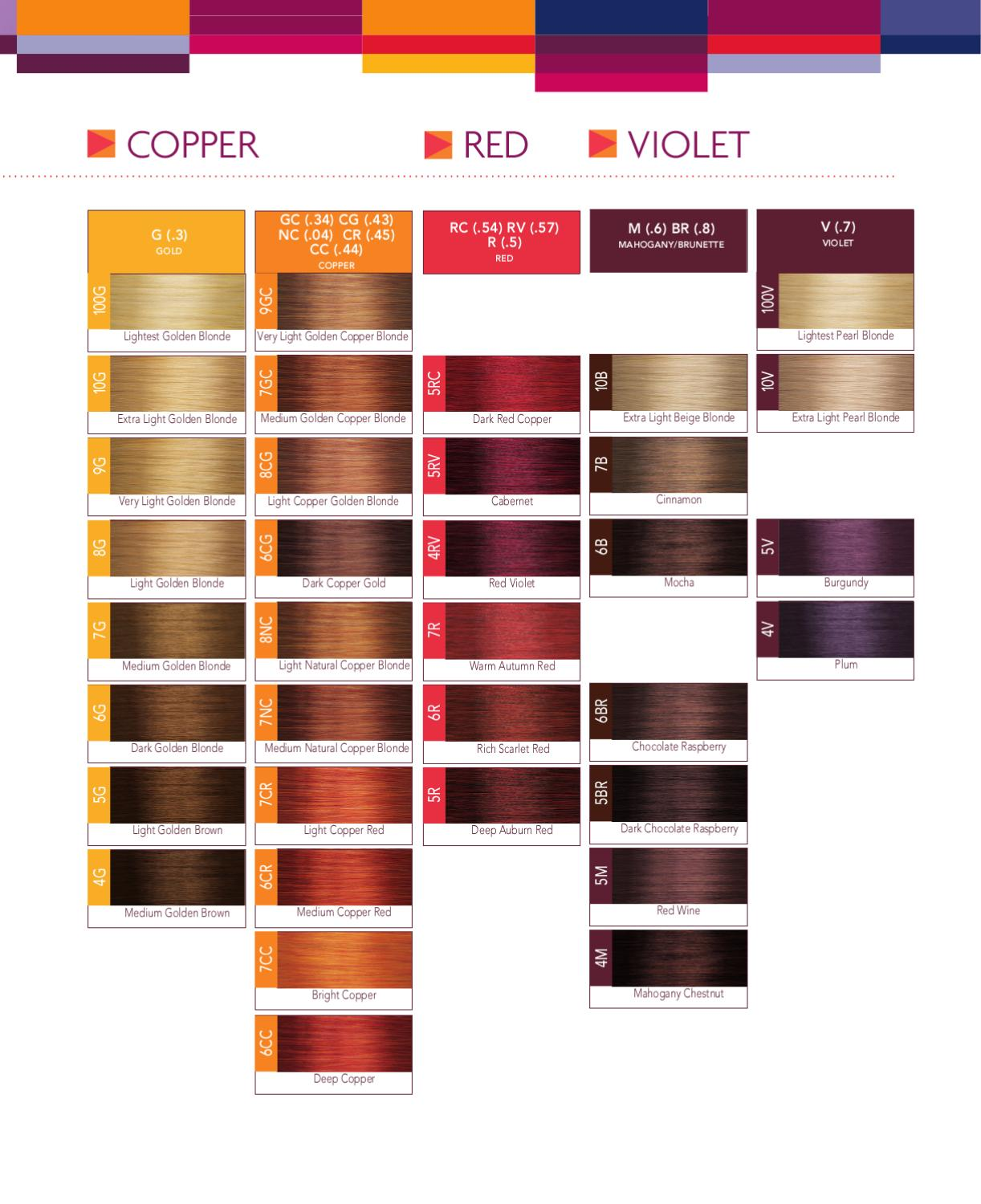 Joico Color Swatch Book