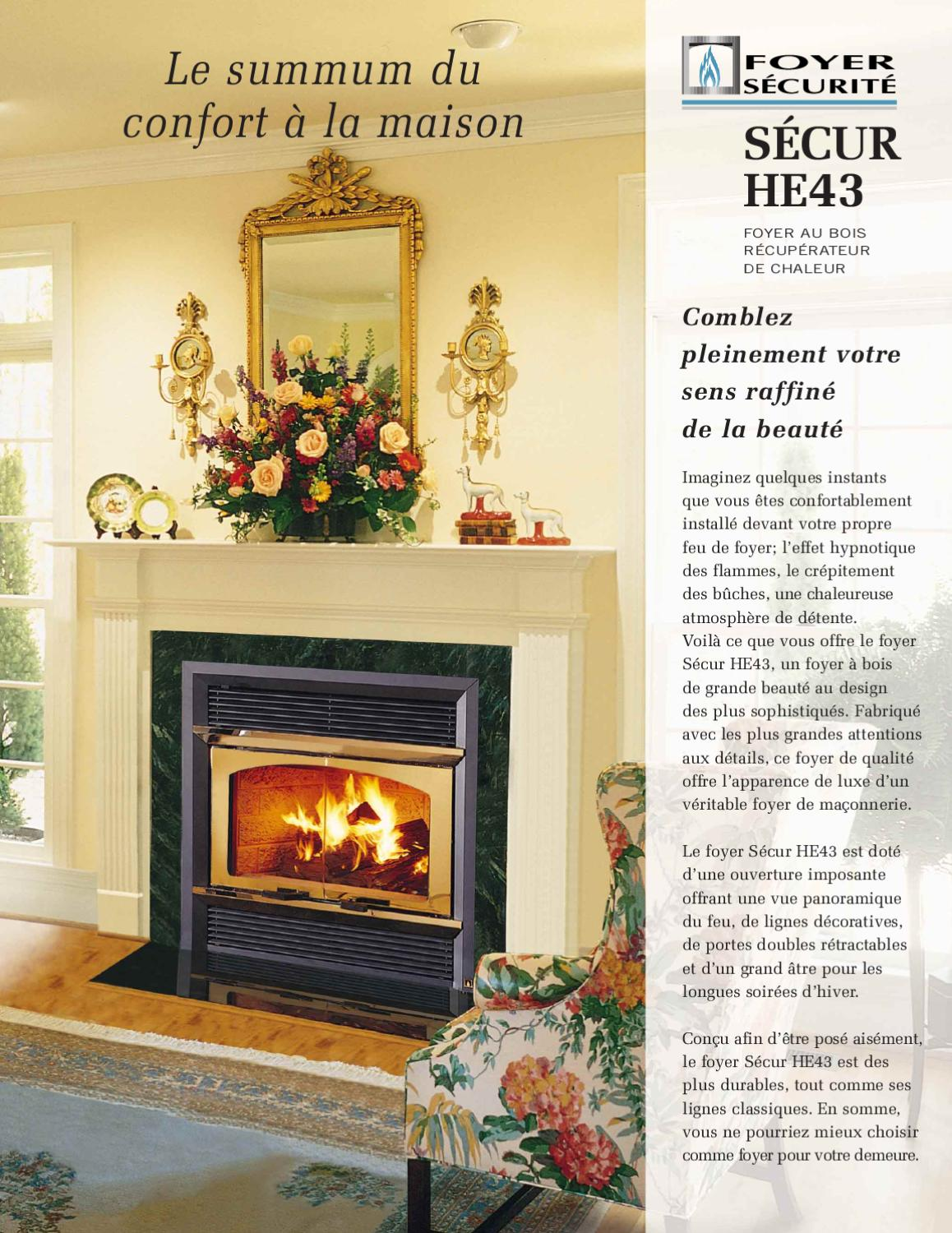 Security Wood Fireplaces By Smoke Fire Issuu