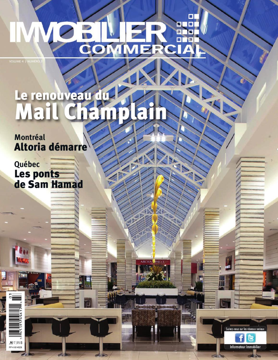 Magazine Immobilier Commercial Vol 4 No 3 By Jbc Média Inc Issuu
