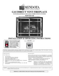 Mendota Gas Fireplaces by Smoke Fire