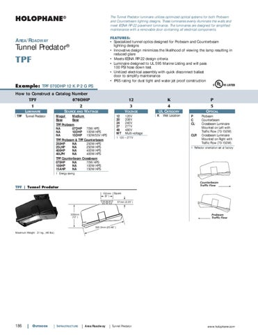 Holophane Outdoor Product Catalog by Alcon Lighting - issuu