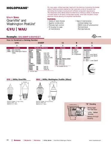Holophane Washington Post Lite Wiring Diagram Wiring Schematic Diagram