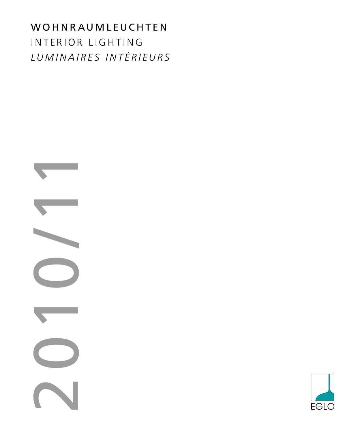 Eglo Interior Lighting 2010 2011 By Iliacomua Shop Issuu
