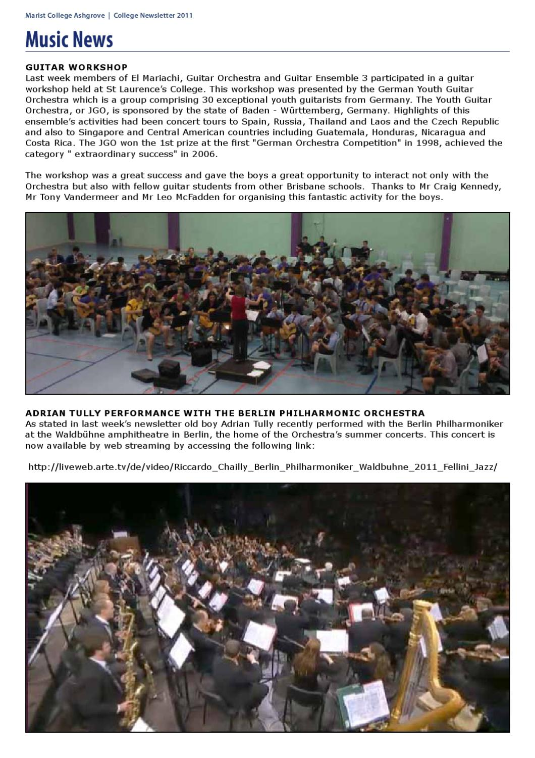 Arte Tv Newsletter Marist College Ashgrove Newsletter By Marist College Ashgrove Issuu