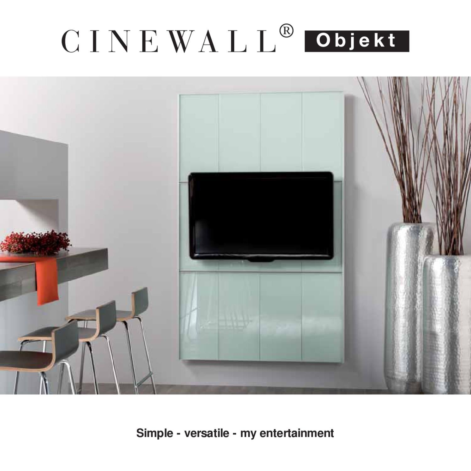 Cinewall Tv Paneel Cinewall Tv Üniteleri By Cem Pazarlama Issuu