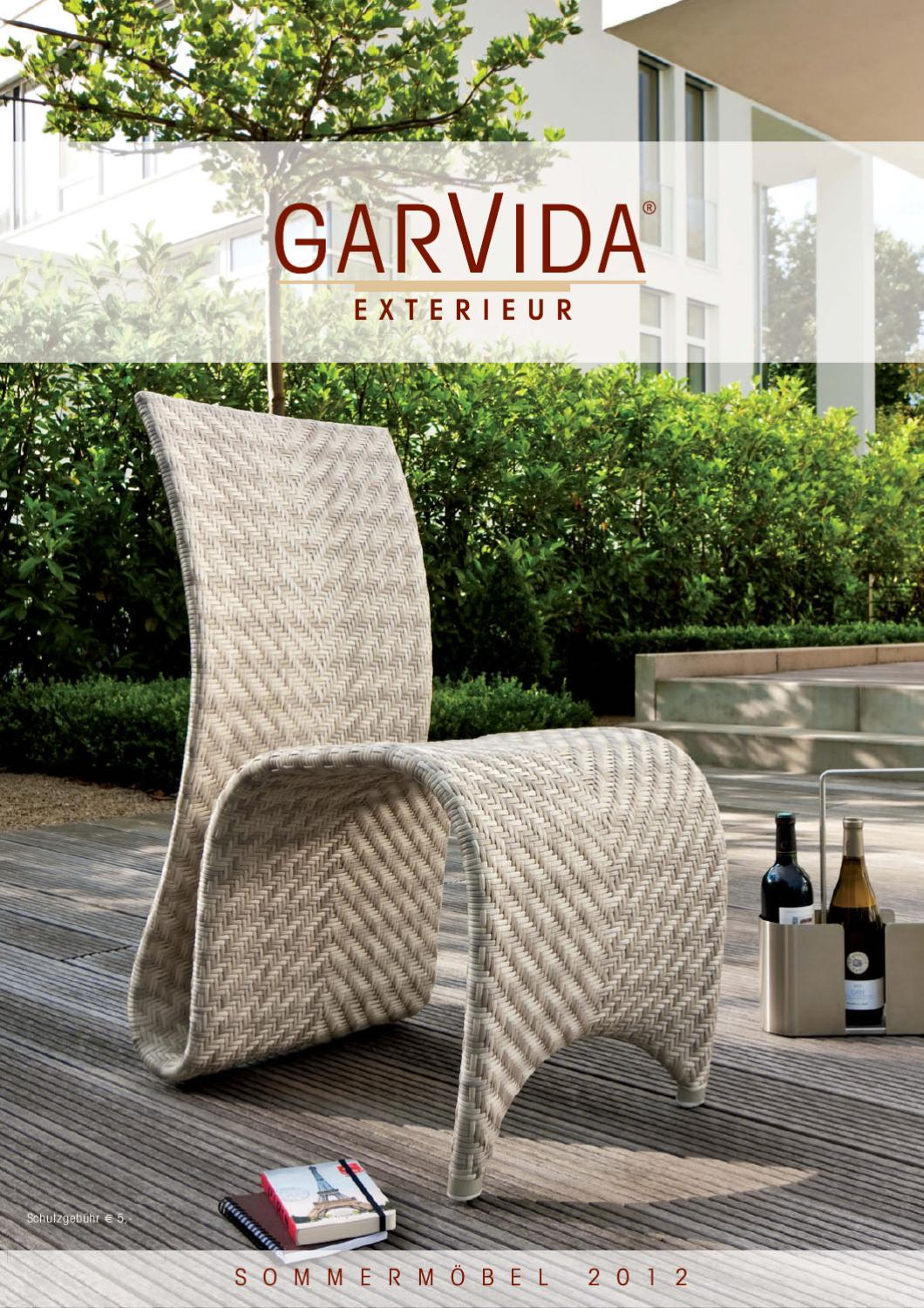 Garvida Garden Furniture Catalog 2012 By Lakbermagazin Issuu